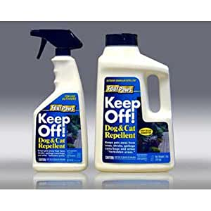 Amazon.com: Keep Off! Outdoor Dog And Cat Repellent 24oz ...