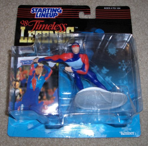 1998 Dan Jansen Timeless Legends Starting Lineup Figure