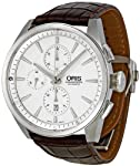 Oris Artix Silver Dial Chronograph Mens Watch 674-7644-4051LS by Oris