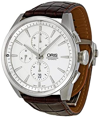 Oris Men's 67476444051LS Artix Analog Display Swiss Automatic Brown Watch