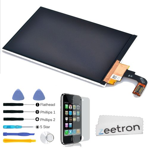 Zeetron©Iphone 3Gs Replacement Lcd Display Screen + Tool Kit + Screen Protector + Cloth (Do It Yourself Kit)