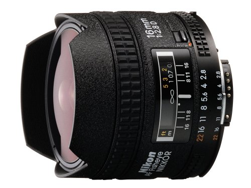 Nikon AF Fisheye NIKKOR 16mm f/2.8D Lens