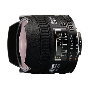 Nikon 16mm F/2.8D AF Fisheye Nikkor Lens