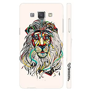 Samsung Galaxy A8 Sporty Lion designer mobile hard shell case by Enthopia