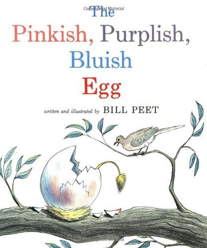 The Pinkish, Purplish, Bluish Egg (Sandpiper Books) PDF