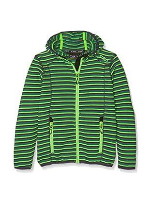 CMP Chaqueta 3H57654 (Verde / Multicolor)