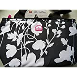 Igloo Black Floral Print Insulated Mini Tote No Size Black/white