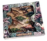 8 PIECE QUALITY DINOSAUR PLAY SET BY ARK TOYS