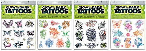 Savvi-Assorted-Glow-in-the-Dark-Temporary-Tattoos