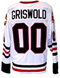 Chevy Chase Unsigned Custom Griswold Christmas Vacation White Jersey Large