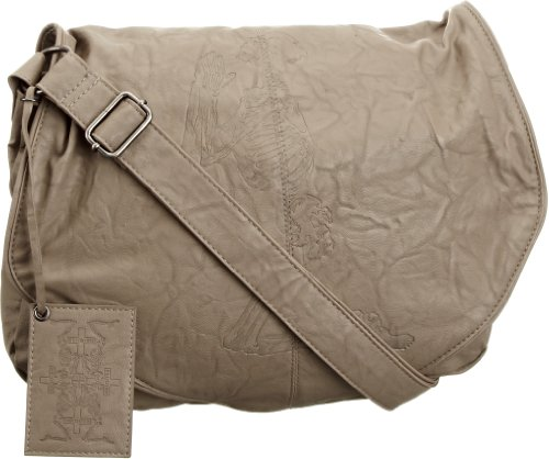 Religion Women's Wired Cross Body Bag Taupe Na1064