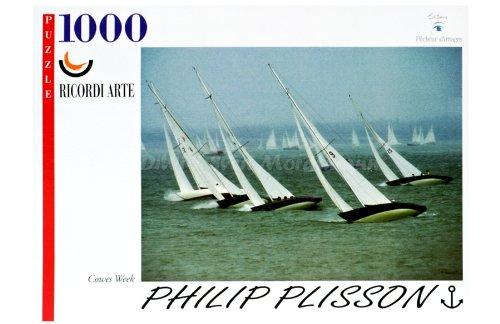 Ricordi Puzzle 1000 Teile Philip Plisson Cowes Week (WD6)