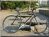 【送料無料】ピストバイク YONCa シングルスピード TOKYO CUSTOM 自転車(カラー:ブラック)