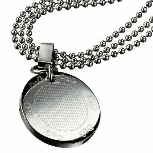 D & G DJ0675 'Flutter' Stainless Steel Necklace