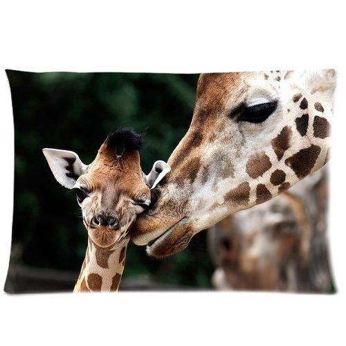 Giraffe At Home Blanket