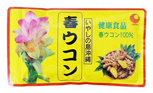 沖縄県産品 春ウコン粉末(袋) 100g