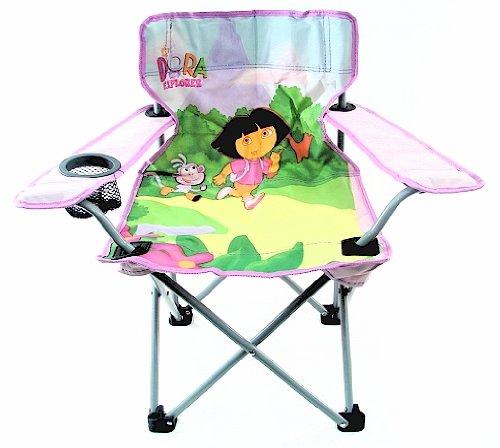 Kids Folding Beach Lounge Chair Dora The Explorer Folding
