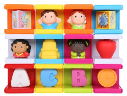 Safety First Cubikals Stack 'n Play 12 Block Set - School Set 2