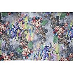 Triveni GEORGETTE Fabrics (TSFD006_LIGHT PURPLE)