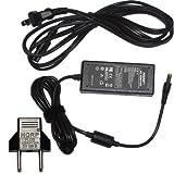 HQRP AC Adapter for Casio SA-46 / SA46 / SA-47 / SA47 / SA-76 / SA76 / SA-77 / SA77 / SA-78 / SA78 Keyboards Power Supply Cord plus Euro Plug Adapter