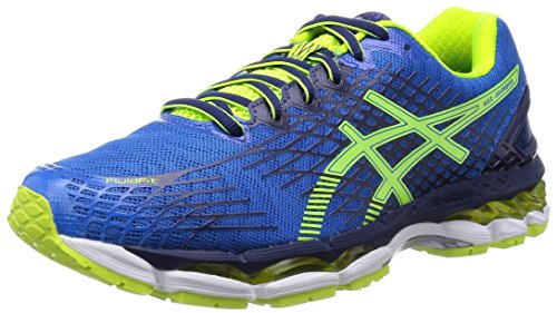 [ASICs] ASICS GEL-NIMBUS 17-SW TJG707 3907 (electric blue / yellow Flash /27.5)