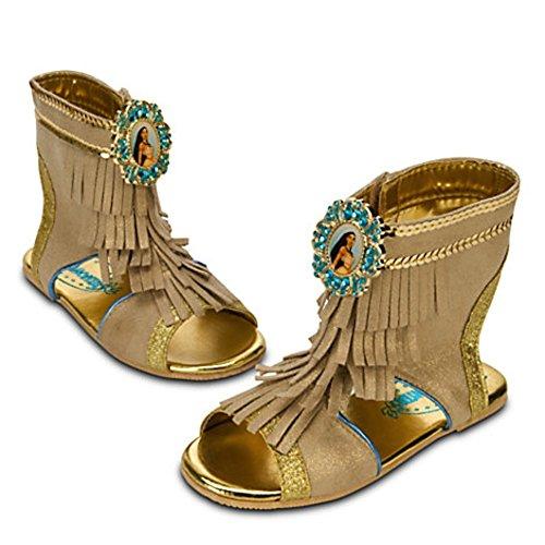 [Disney Store Pocahontas Costume Shoes for Toddler Girls Size 13 - 1 Halloween] (Pocahontas Costumes For Kids)