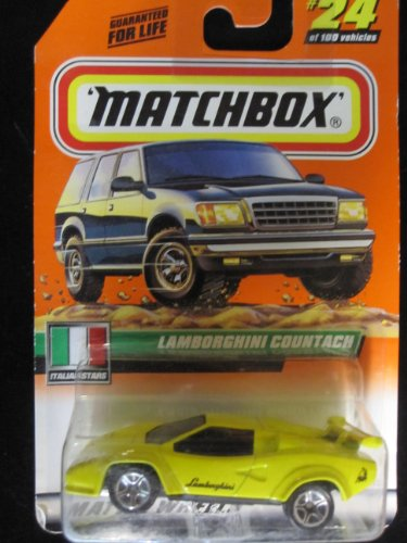 Lamborghini Countach Matchbox Italian Stars Series #24 - 1