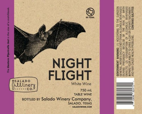 2010 Salado Winery Night Flight White 750 Ml