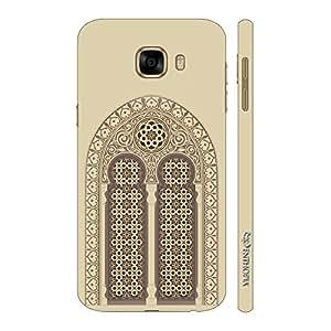 Enthopia Designer Hardshell Case Mosque Door Back Cover for Samsung Galaxy C5