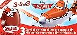 2 Boxes (6 Eggs) Disney Pixar Disney Planes Fire & Rescue chocolate Surprise inside, Free Gift