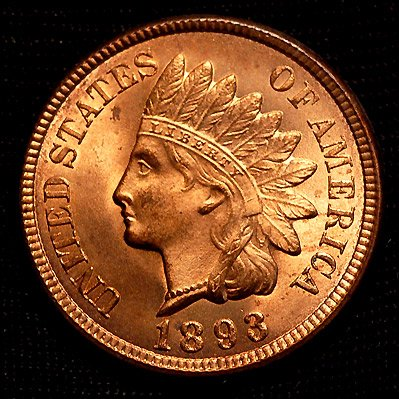 Buy 1893 Indian Head Penny MS-67 Red *** GORGEOUS!!