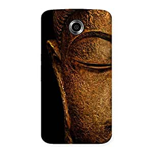 Delighted Lord Buddha Multicolor Back Case Cover for Nexsus 6