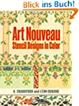 Art Nouveau Stencil Designs in Color...