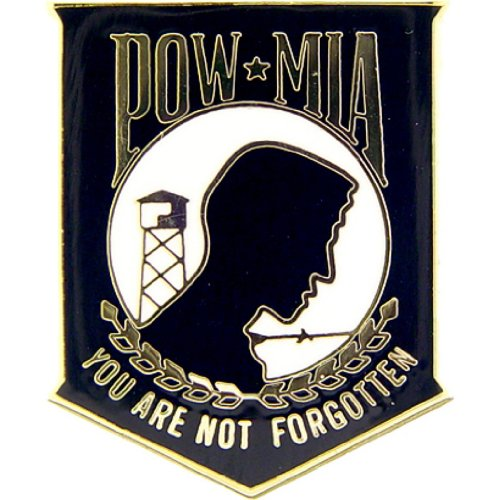 POW MIA Military Medal Pin Military Commemorative Collectibles, Patriotic Gifts for Men, Women, Teens, Veterans Great Gift Idea for Wife, Husband, Relative, Boyfriend, Girlfriend, Grandparent, Fiance or Friend. Perfect Christmas Stocking Stuffer or Vetera