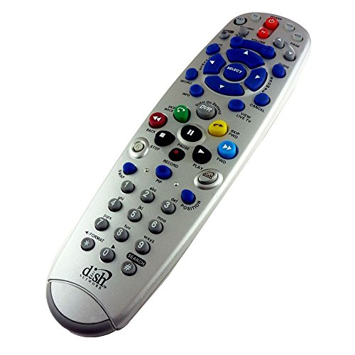 Simply Silver - New Dish Network Remote Control 8.0 UHF Pro Bell DVR 612 722 625 TV2 #2 6.4 6.3 - Unbranded (Dish Dvr 625 compare prices)