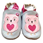 Tiny's - Chaussons de b�b� en cuir do...