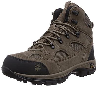 Jack Wolfskin ALL TERRAIN TEXAPORE MEN, Herren Trekking- & Wanderstiefel, Beige (siltstone 5116), 39.5 EU (6 Herren UK)