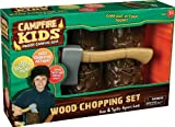 51005 Features: -Fun log-splitting action. -Snaps together and breaks apart. -Easy to use. -Campfire Kids collection. Gender: -Unisex. Age Group: -3 to 4 Years/5 to 6 Years/7 to 8 Years/9 to 10 Years/11 to 12 Years/13 Years and up. Primary Material: -Plastic. Dimensions: Overall Height - Top to Bottom: -9 Inches. Overall Depth - Front to Back: -5 Inches. Overall Product Weight: -0.45 Pounds.