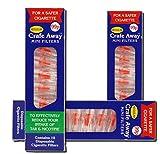 3 PACK of Crafe Away anti-smoking mini filtersX10