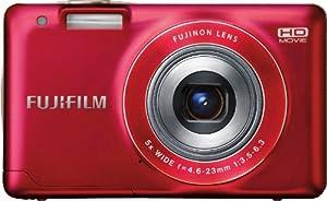 Fujifilm FinePix JX500 Digital Camera (Red)