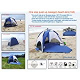 One-Step Push Up Instant beach tent Sun Shelter (Tall)