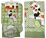 Disney Mickey Mouse - Chef de Cuisine - 4 Piece Kitchen Set