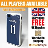 Ross County FC Personalised Shirt Style Football Phone Cover / Case for iPhone 4/4s (White Bumper Only Available)