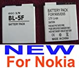 Replacement Recharegeable Battery Pack for Nokia N95 / N96 / E65 Smartphones