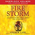 Fire Storm Audiobook by Andrew Lane Narrated by James Langton