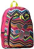 Trailmaker Big Girls Neon Glitter Backpack, Flower, One Size