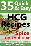 25 Quick & Easy HCG Recipes