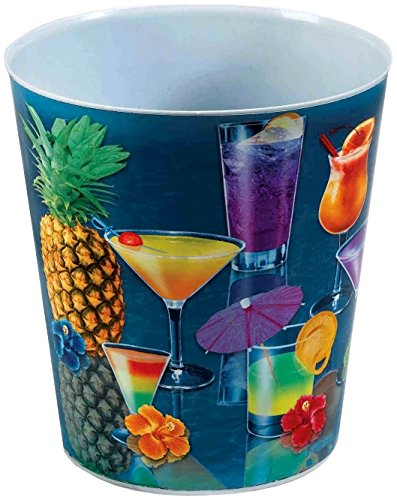 Forum Novelties Hawaiian Luau Party Fruity Mixed Drink Ice Bucket