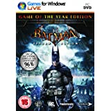 Batman : Arkham Asylum- Game of the year (PC DVD)by Eidos