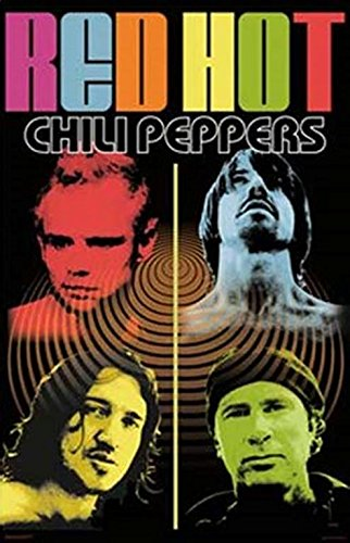 (24 x 36) Red Hot Chili Peppers (Psychedelic, Music-Poster con stampa, colori assortiti